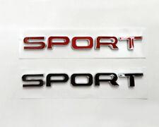 Rust-Free SPORT Logo Nameplate Tailgate Badge Emblem Decal for Land Range Rover