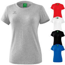 11032468fabbd1 Erima Style T-Shirt Damen Freizeitshirt Frauen Sportshirt Baumwolle  Training Top