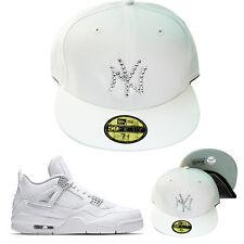 New Era New York Yankees Swarovski Crystal Stone Fitted Hat Jordan 4 pure money