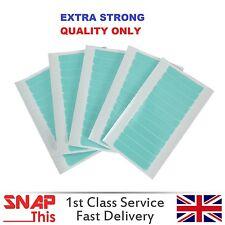 Pre-Cut doble cara extra fuerte cinta adhesiva Azul Piel Weft Extensiones De Cabello