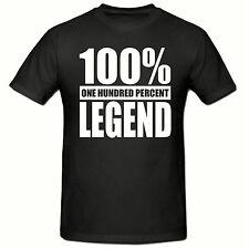 100% Leyenda T Shirt, original, divertido, Para Hombre T shirt,sm-2xl