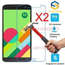 2Pcs 9H+ Premium Tempered Glass Film Screen Protector For Motorola Moto Phone
