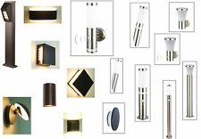 Aussenleuchte LED Wand-Sokelleuchte-Stehleuchte mit oder ohne Bewegungsmelder