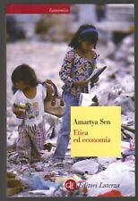 Etica ed economia Amartya Sen SC 2007