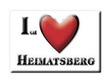 DEUTSCHLAND SOUVENIR - BAYERN MAGNET ICH LIEBE  HEIMATSBERG (ROSENHEIM)