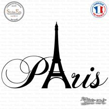 Sticker Paris tour Eiffel Decal Aufkleber Pegatinas V-010 Couleurs au choix