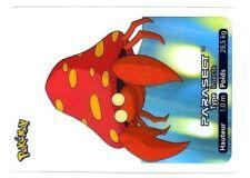 POKEMON LAMINCARDS CARTE CARD 047 PARASECT ERROR