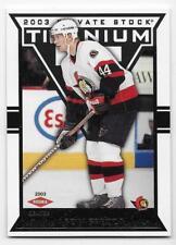 02/03 TITANIUM RETAIL ROOKIES RC Hockey /1475 (#101-140) U-Pick from List