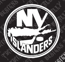 New York Islanders car truck vinyl decal sticker NHL Hockey NY