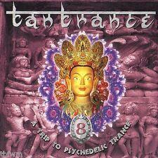 Tantrance 8 - RARE 2CD - NEU - NEW - GOA TRANCE - TBFWM
