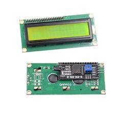 Interface1602 IIC/I2C/TWI/SPI 2004 Character LCD Module Display Blue Yellow