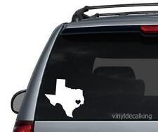 Texas heart Decal car/truck sticker