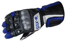 Bangla Motorrad Handschuh Motorradhandschuhe Leder Suzuki GSX-R blau S - XXL