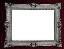 Espejo Barroco de pared plata envejecida ANTIGUO ROCOCO 90x70 cm decoración