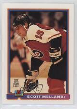 1991-92 Bowman #236 Scott Mellanby Philadelphia Flyers Hockey Card