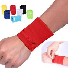 Wrist Wallet Pouch Band Zipper Running Travel Gym Cycling Sport Bag Protable