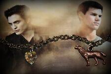 Twilight Vampire Wolf Inspired Charm Bracelet