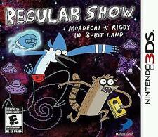 Regular Show: Mordecai & Rigby in 8-Bit Land (Nintendo 3DS, 2013)