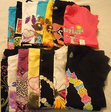 Girls Tee Shirts Graphic Crew Kids