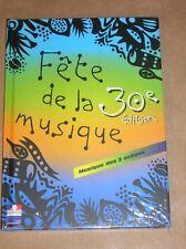 3 CD + LIVRE / FETE DE LA MUSIQUE 30EME EDITION / RARE / NEUF SOUS CELLO