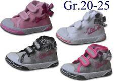 Mädchen Sneaker NEU Knöchelschuhe Schuhe High Top Canvas Stoffschuhe @2316C