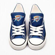 Oklahoma City Thunder Shoes Unisex Basketball Gift Custom Printed  Sneakers