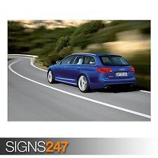 AUDI RS6 AVANT CAR 10 (AC738) CAR POSTER - Photo Poster Print Art A0 A1 A2 A3 A4