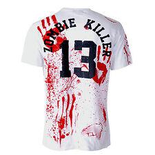 Zombie Killer 13 Blanco Muerte para hombre de Superdry Darkside S - 3xl Zombie, horror