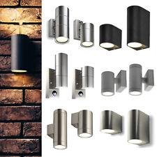LED Außenlampe Gartenleuchte Wandlampe Wandleuchte Außenbeleuchtung GU10 230V