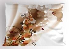 Tan Pillow Sham Decorative Pillowcase 3 Sizes Bedroom Decor Ambesonne