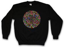Psychedelic discoteca light suéter retro oldies música nerd techno luz electro