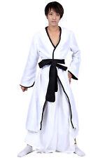 Bleach Cosplay Costume White Bankai Outfit for Kurosaki Ichigo 2nd Version