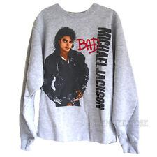 Junk Food Michael Jackson BAD Oversized Pullover Sweatshirt with Soft Fleece WMN