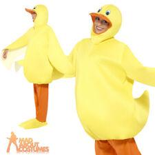 Adult's Duck Costume Teachers World Book Day Week Chicken Hen Fancy Dress Outfit