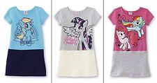 Girls My Little Pony Dress Size 6/8/10/12/14 Pinkie Pie Rainbow Dash Top NEW NWT