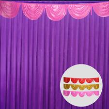 Textiles Drape Wedding Decor Ice Silk DIY Backdrop Curtain Stage Photography