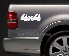 2) 4x4 Bedside Decals Stickers mud turbo diesel utv atv rzr truck Style #4
