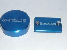 SUZUKI SV1000S 2003-04 Front & rear Brake Fluid Reservoir COVERS CAPS LIDS TOP