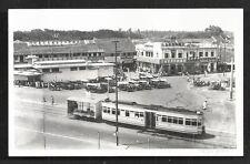 Batavia rppc Glodok Tram Cars Shops Java Indonesia 30s