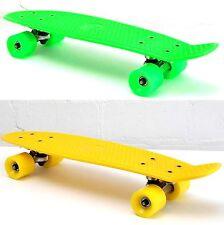 "Skateboard rebel Minicruiser 22"" retro pro Glider Board en 2 couleurs au choix"