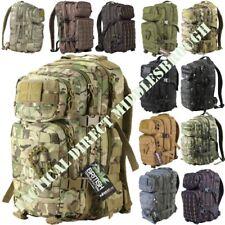 3 TIER 28 LITRE MOLLE ASSAULT RUCKSACK ARMY CADET DAYSACK BAG MTP BLACK CAMO