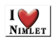 SOUVENIR UK - ENGLAND MAGNET UNITED KINGDOM I LOVE NIMLET (GLOUCESTERSHIRE)