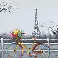 Paris bike  HiGH QUALITY Canvas Home decor wall canvas printing