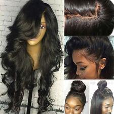 Wavy 360 Lace Frontal Malaysian Virgin Human Hair Wigs Silk Base Full Lace Wig s