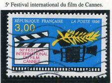 TIMBRE FRANCE OBLITERE N° 3040 FESTIVAL DU FIMS CANNES /