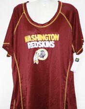 NEW Womens NFL Apparel Washington Redskins Maroon Synthetic Football Shirt