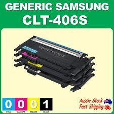2x 3x 4x CLT406 CLTK406S CLT406S CLTY406S Toner for Xpress SL-C410W C460W C460FW