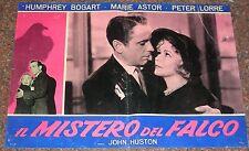 FOTOBUSTA 3, IL MISTERO DEL FALCO The Maltese Falcon BOGART CINEMA NOIR POSTER
