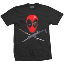 Official Licensed - Deadpool - Knochen T-Shirt Marvel Comics Avengers
