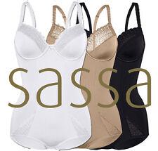SASSA Body mit Bügel *LOVELY SECRET* 989 Gr 75-95 B-D in Weiss, Skin, Schwarz
